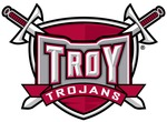 Team troy trojans shield