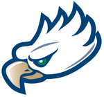 Team florida gulf coast eagle head