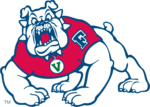 Team fresno state bulldog transparent
