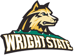 Team wright state raiders dog head